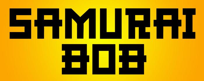 CF Samurai Bob Font poster