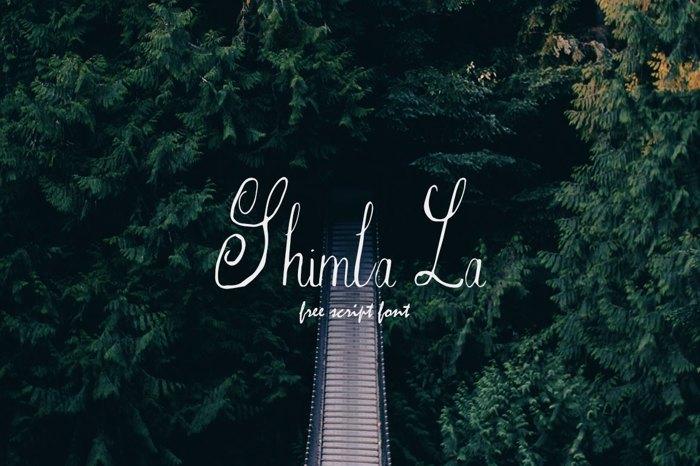Shimla La Font poster