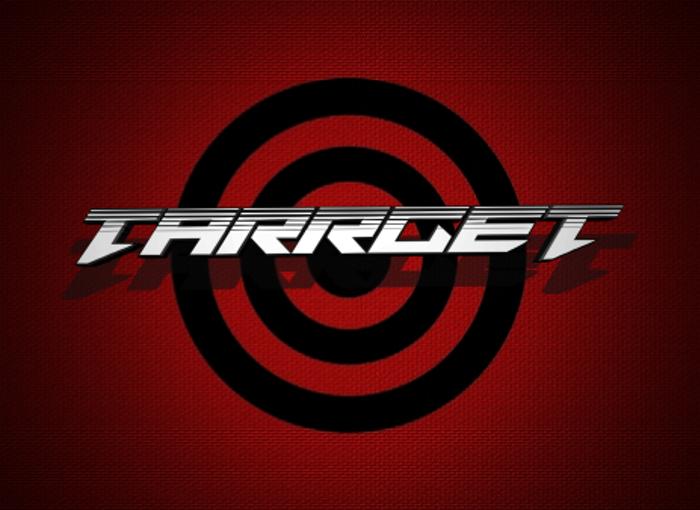 Tarrget Font poster