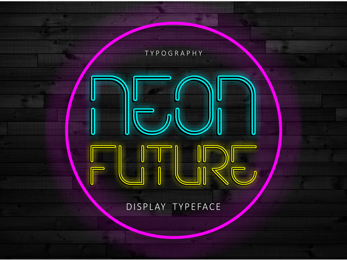 Neon Future poster