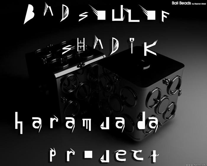 HARAMJADA PROJECT Font poster