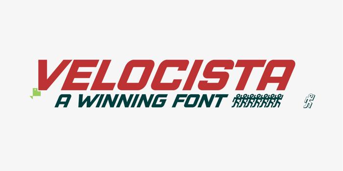 VELOCISTA Font