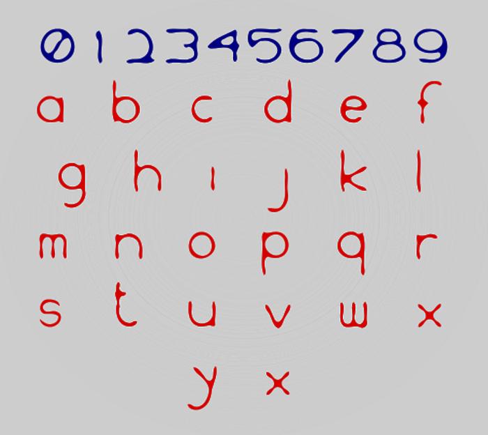 WS Inkski Font poster