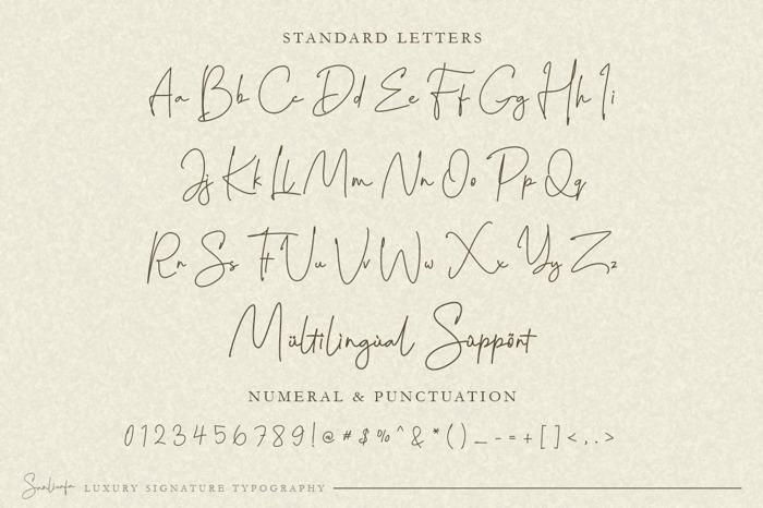 Sanliurfa Font poster