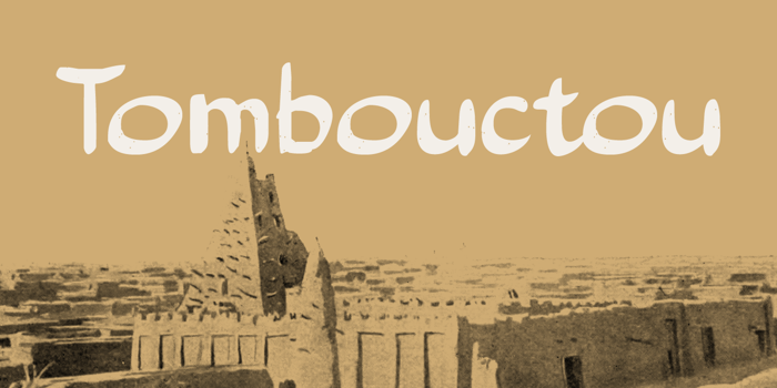 Tombouctou DEMO Font