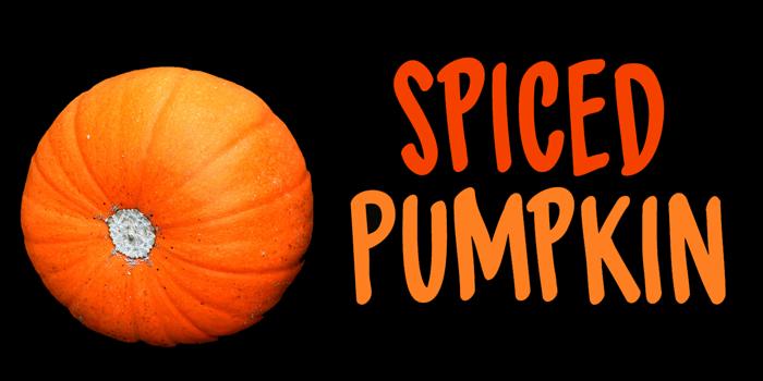 DK Spiced Pumpkin Font poster