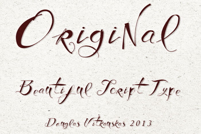 Vtks Authentic Font poster