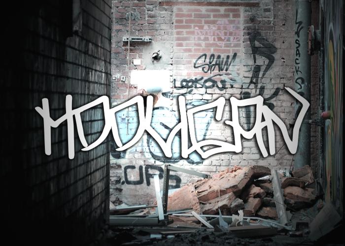 Hooligan Font poster