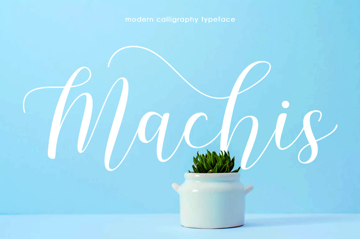 Machis Font poster