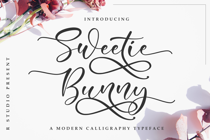 Sweetie Bunny Font poster