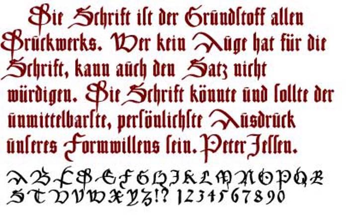 CancellerescA Font poster