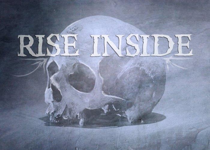 Rise Inside Font poster