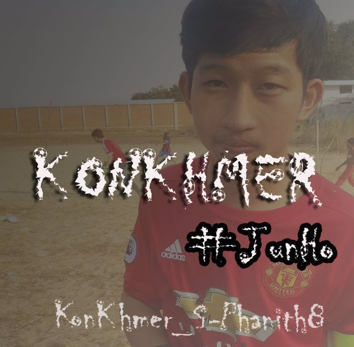 KonKhmer_FireBall PJ Font poster