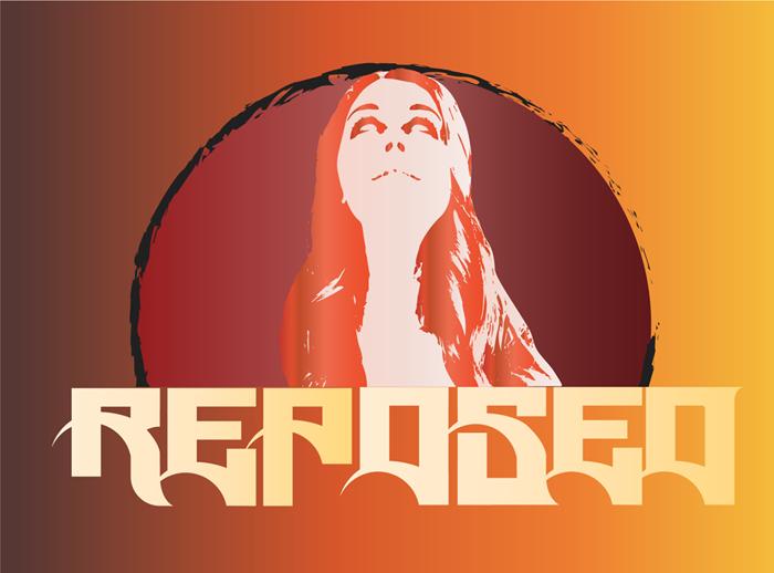 Reposed Font poster