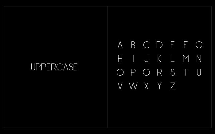 Hypeface - Reg Font poster