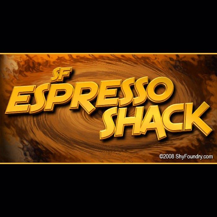 SF Espresso Shack Font poster