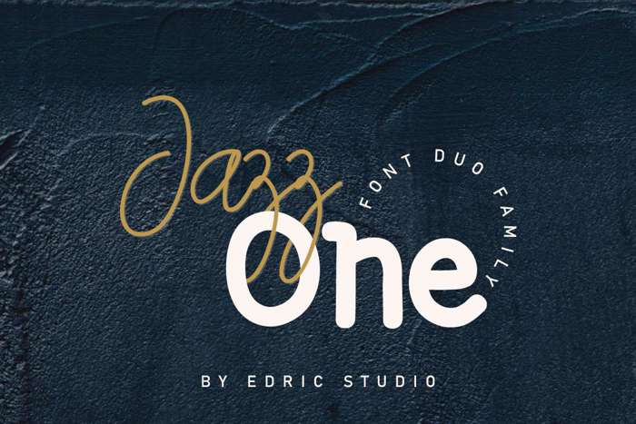 Jazz One Font poster
