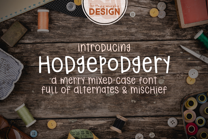 hodgepodgery poster