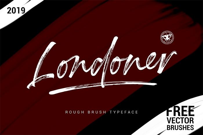 Londoner Font poster