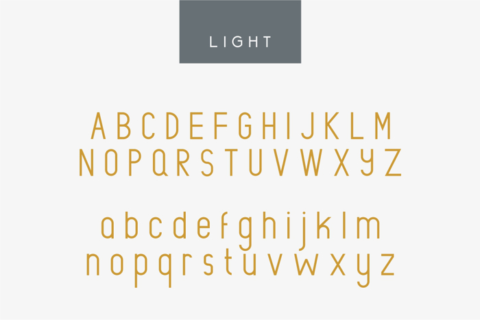 Rowland Font poster