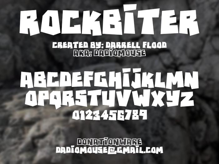 RockBiter poster