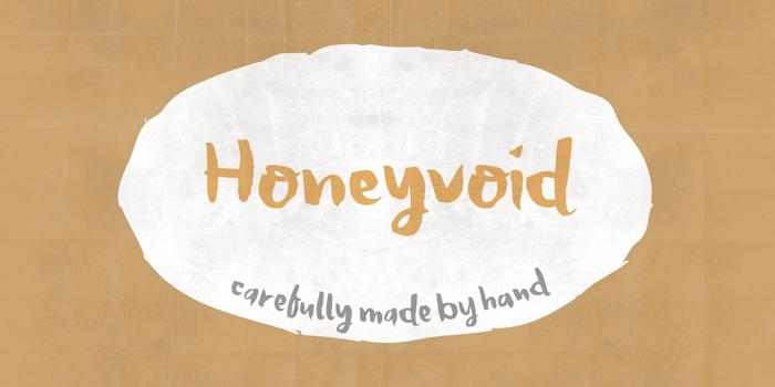 Honeyvoid DEMO Font poster