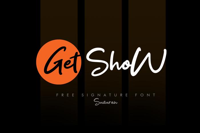 Get Show Font poster