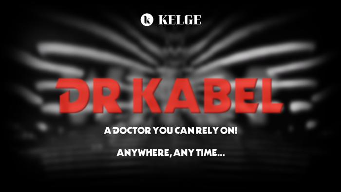 Dr Kabel Font poster