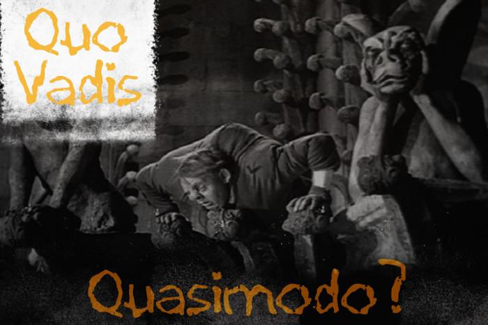 Quo Vadis Quasimodo Font poster