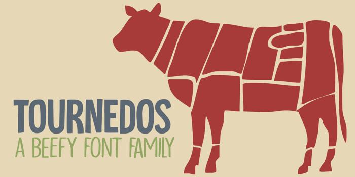 Tournedos (Demo) Font poster
