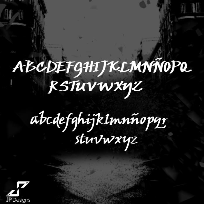 JP Urbaam DEMO Font poster