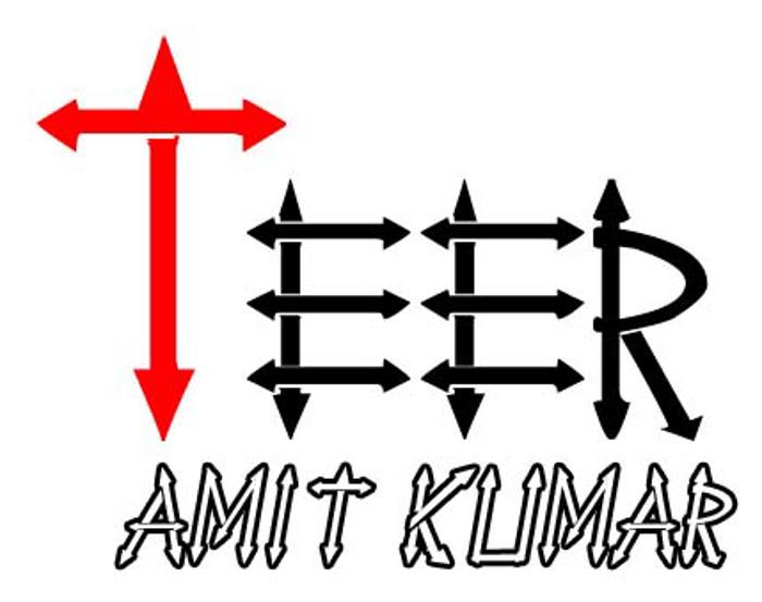 Teer Font poster