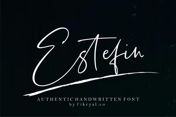 Estefin Font poster