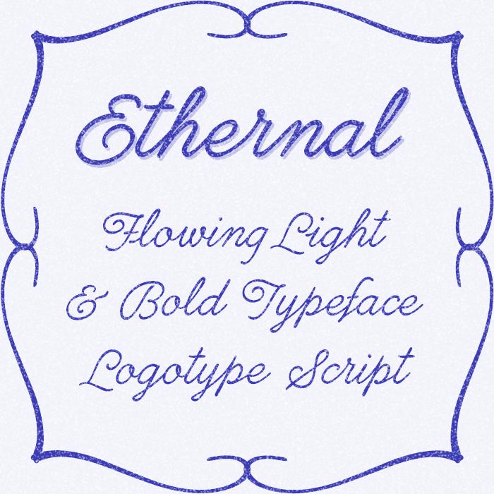 Ethernal Font poster