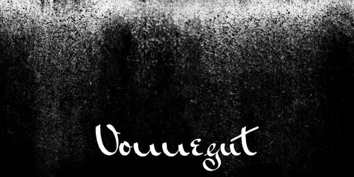 Vonnegut Font poster