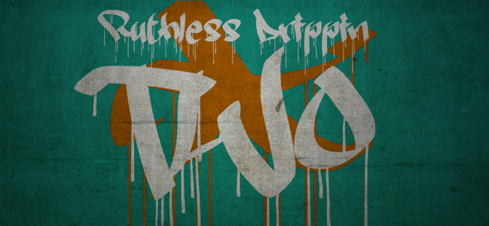 Ruthless Drippin TWO Font poster