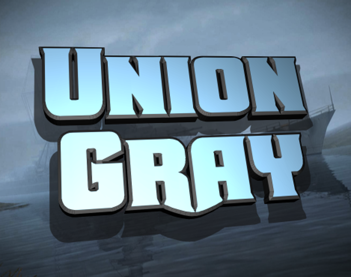 Union Gray Font poster