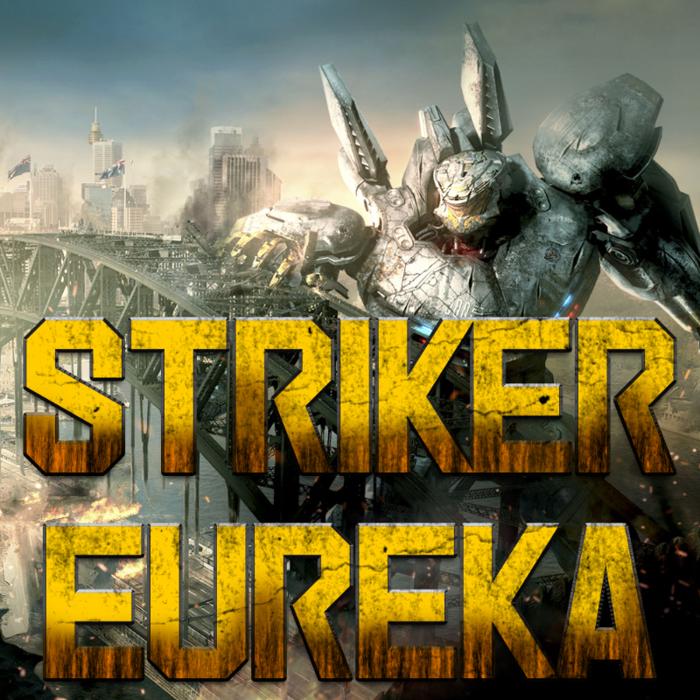 Striker Eureka Font poster