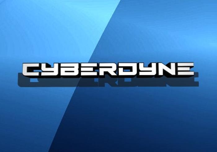 Cyberdyne Font poster