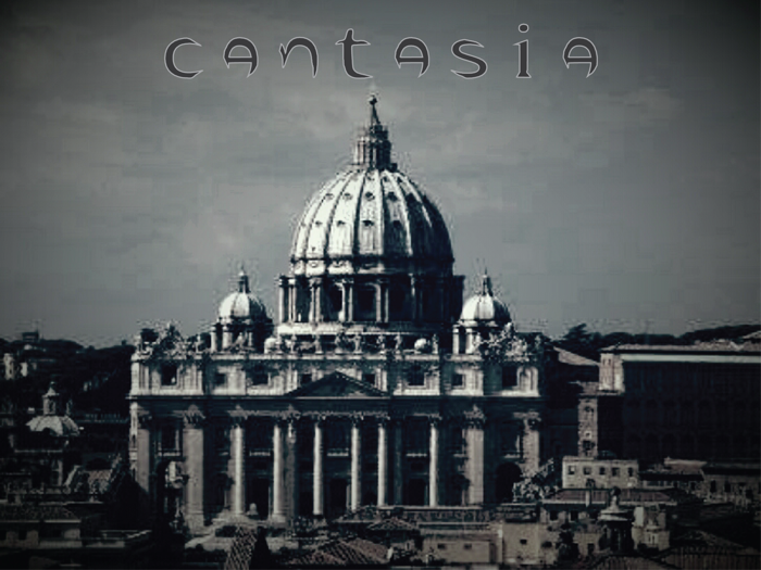cantasia Font poster