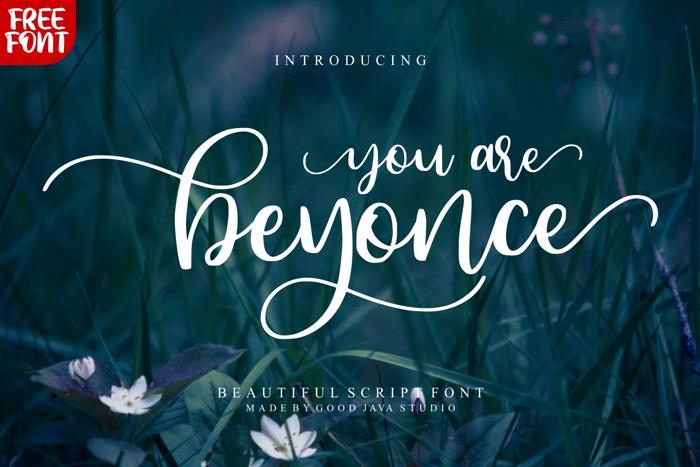 Beyonce Font