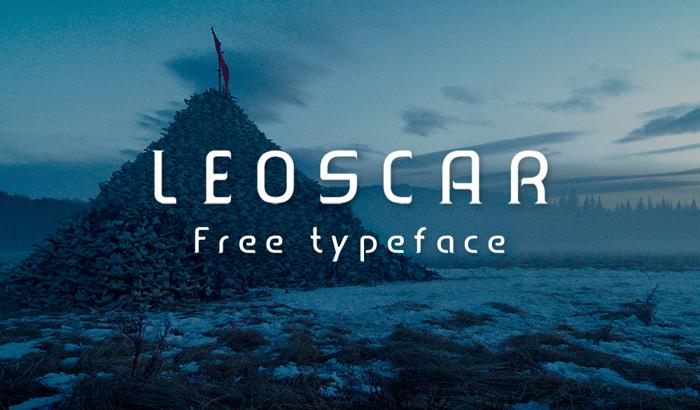 Leoscar Font poster