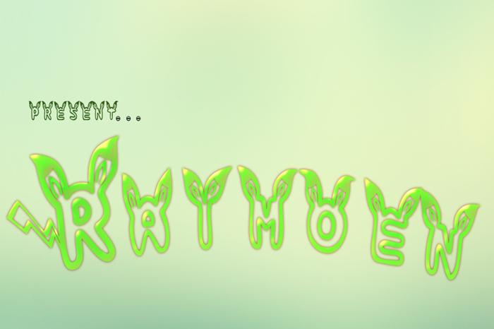 raimoen Font poster