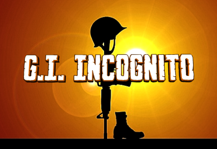 G.I. Incognito Font poster