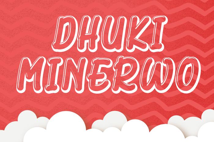 Dhuki Minerwo poster