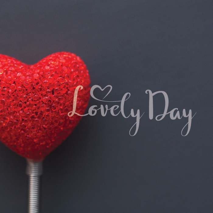 Lovely Day Font poster