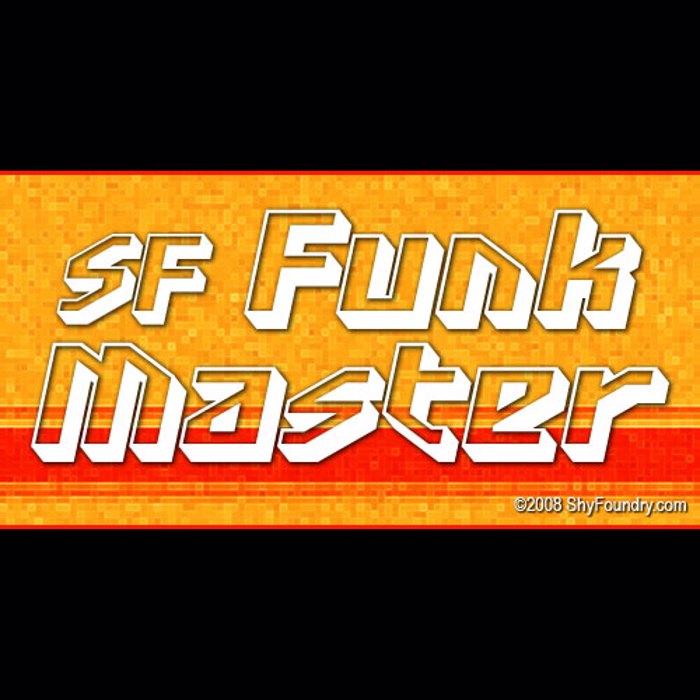 SF Funk Master Font poster