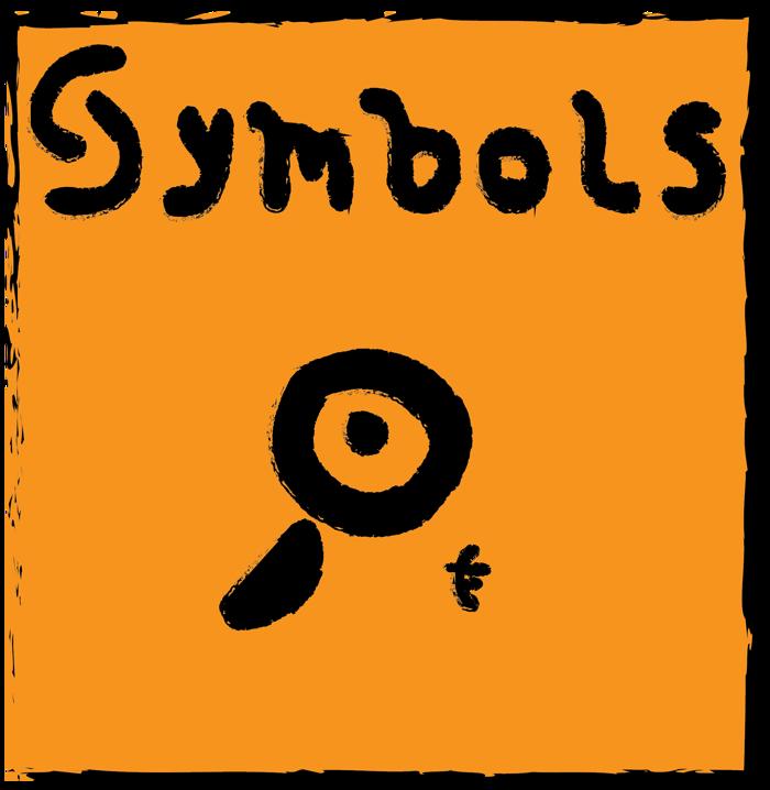 Symbols Font poster