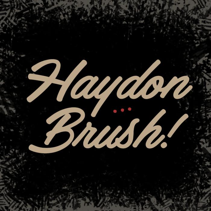 Haydon Brush Font poster
