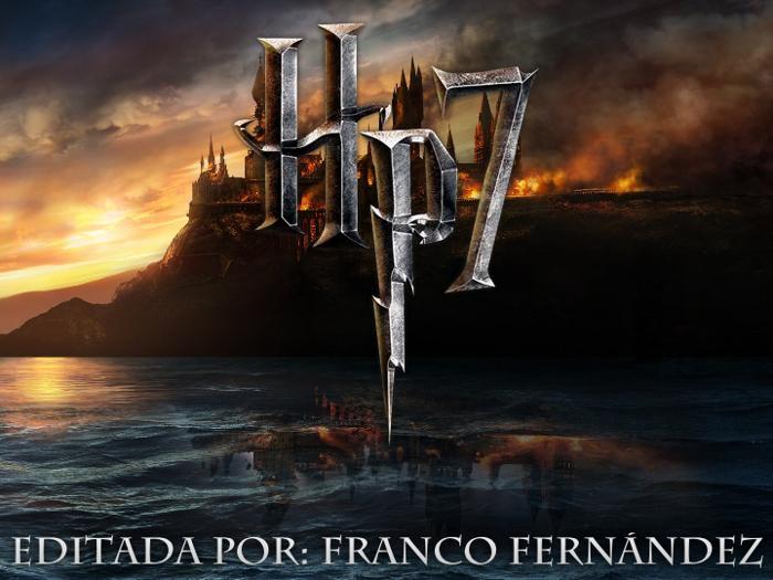HarryPotter7 Font poster